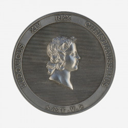 """Portrait of Louis XIV at 5"" medal"