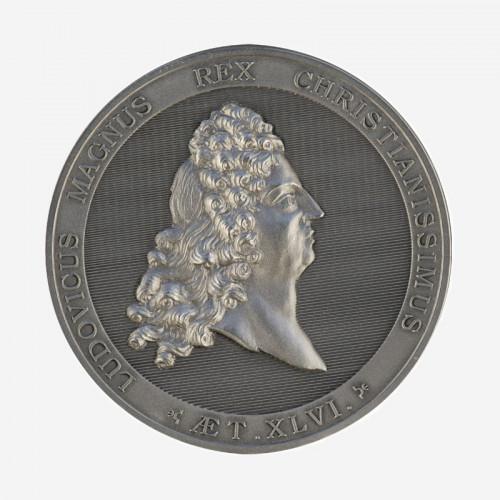 """Médaille """"Portrait de Louis XIV à 46 ans"""""""