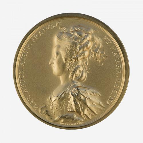 """Médaille """"Louis XVI et Marie-Antoinette"""""""