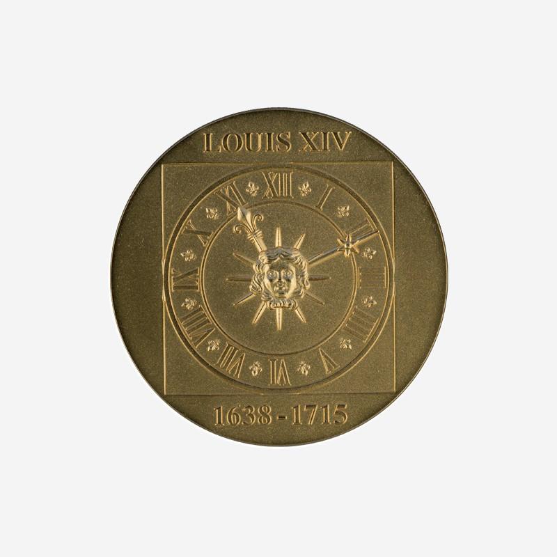 """Médaille """"Horloge de la Cour de Marbre"""""""