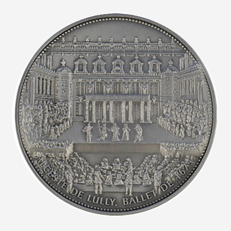 "Médaille ""Ballet Alceste de Lully 1674"""