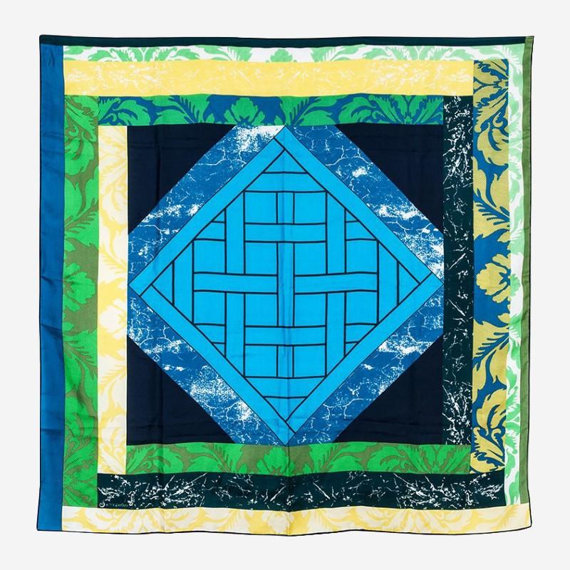 Silk scarf Mapoésie