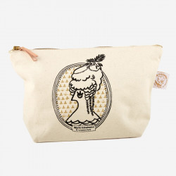 "Make-up bag ""Marie-Antoinette"" - La Cocotte line"