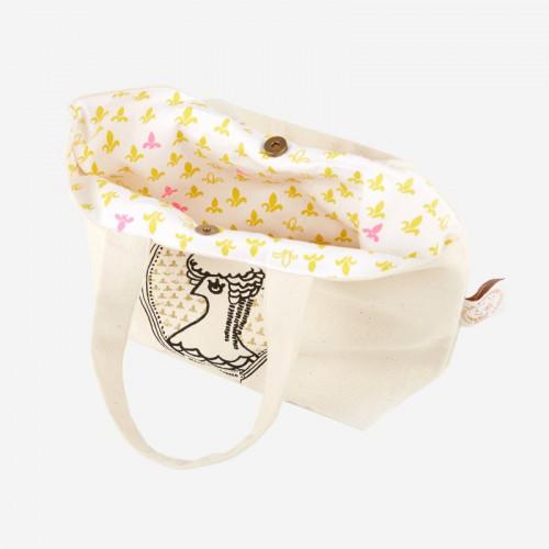 "Small Shopping Bag ""Marie-Antoinette"" - La Cocotte line"