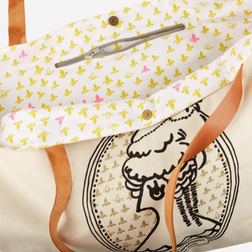 """Shopping Bag """"Marie-Antoinette"""" - La Cocotte line"""