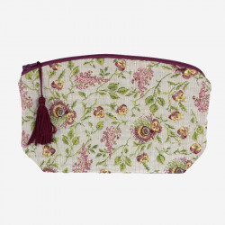 "The Queen's ""Brocade"" Cosmetic bag"