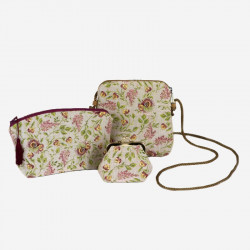 "The Queen's ""Brocade"" Pouch with cordon"