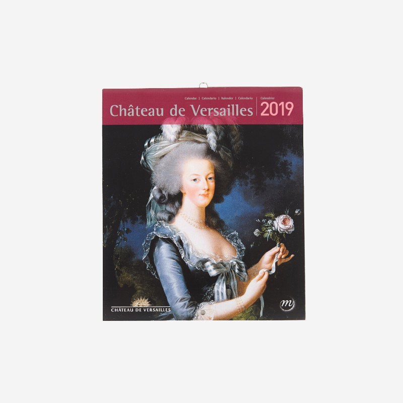 Calendrier 2019 Versailles petit format