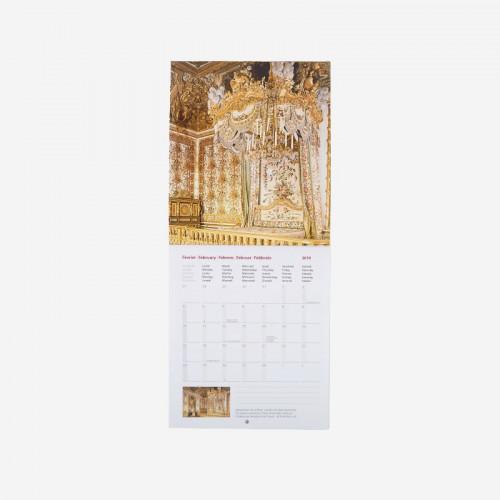 Petit Calendrier 2019.Calendrier 2019 Versailles Petit Format