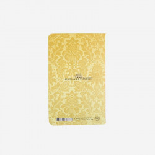 Carnet enfilade des salles Louis XIV jaune