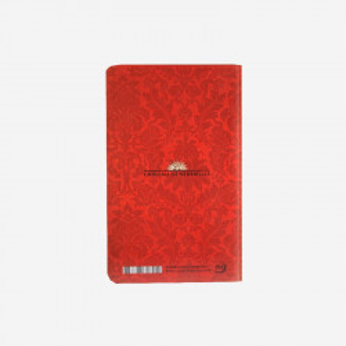 Carnet enfilade salle Maisons Royales rouge