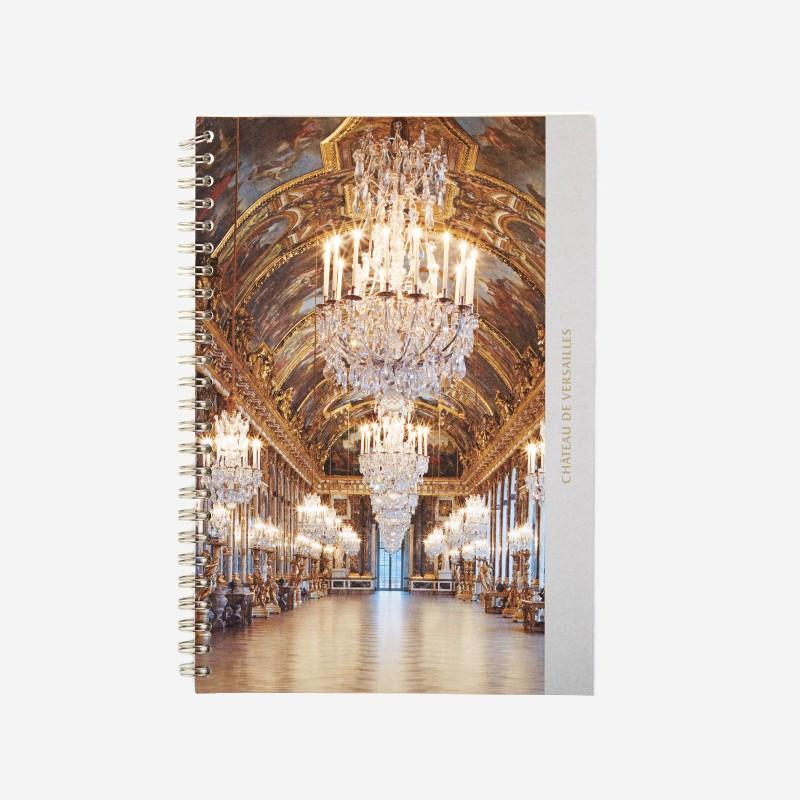 Carnet spirale Galerie des Glaces