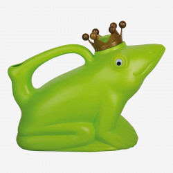 Royal frog watering can
