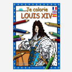 I color Louis XIV