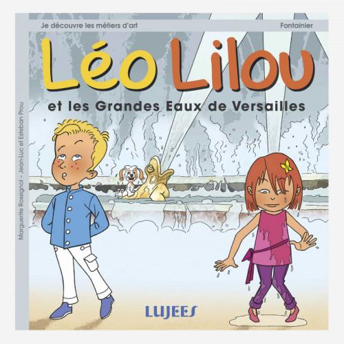 Léo et Lilou et les grandes eaux de Versailles