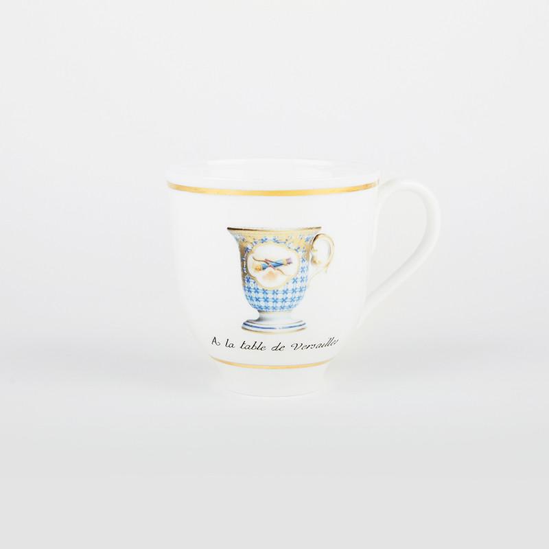 """Mug """"A la Table de Versailles"""" - 1773"""