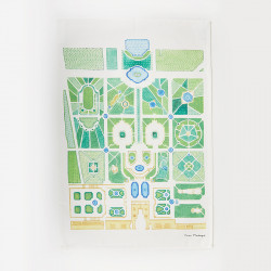 "Tea towel - ""Gardens"" range"