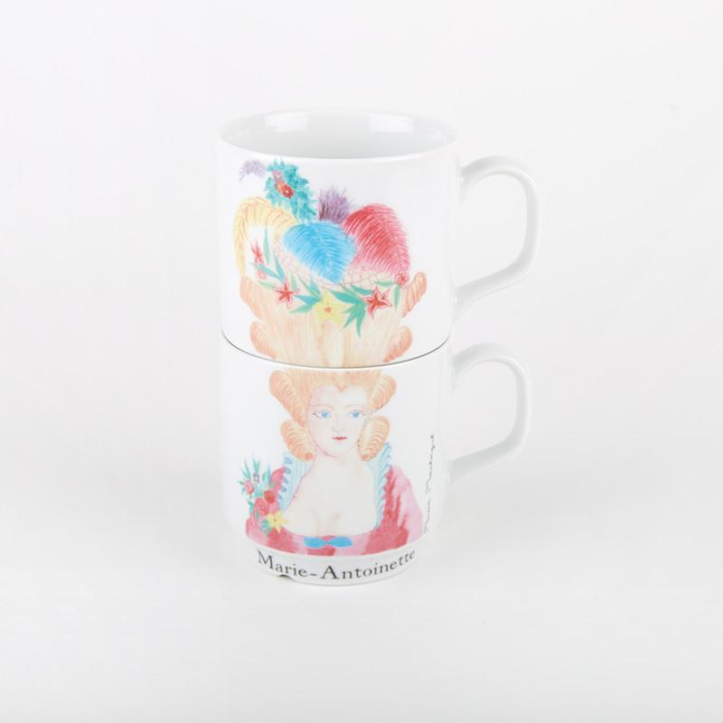 Coffret de 2 mugs - ligne Bonjour Versailles