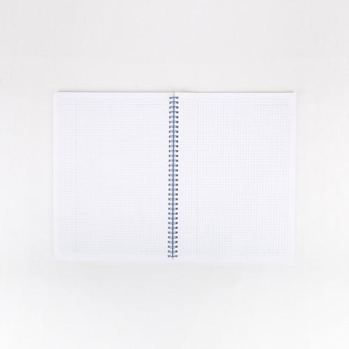 Cahier A4 spirale - ligne Bonjour Versailles
