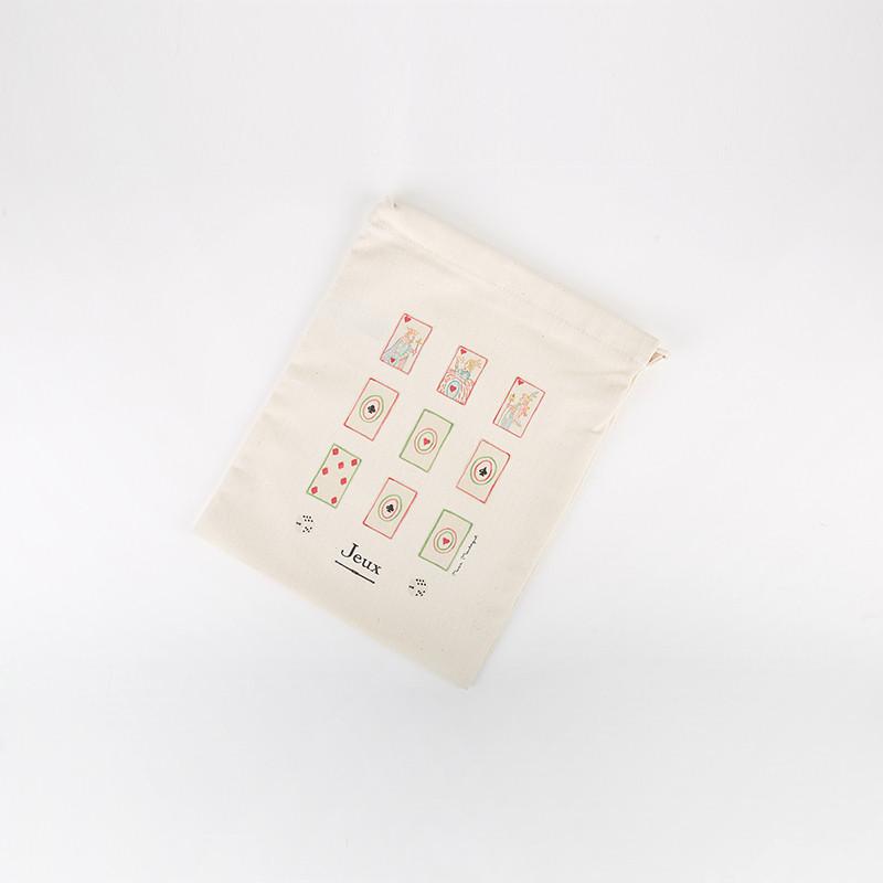 Pochon jeux de cartes - ligne Bonjour Versailles
