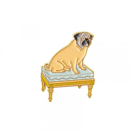 "Pin's Dog ""Bonjour Versailles"""