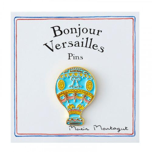 Pin's Montgolfière - ligne...