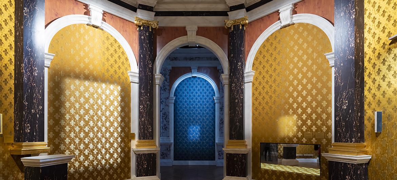 """""""Hyacinthe Rigaud ou le portrait du roi soleil"""" exhibition room"""